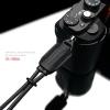 Gariz Leather Wrist Strap : XS-WBL6 (Black)