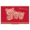 กล่องใส่นามบัตร Rilakkuma สีแดง 1