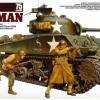 TA35250 M4A3 SHERMAN 75MM U.S MEDIUM TANK GUN