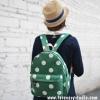 กระเป๋าเป้ยี่ห้อ Super Lover มินิ Retro Polka Dot สไตล์ญี่ปุ่นป่า (Preorder)