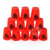 เกมส์เรียงแก้ว...SPEED STACKS สีแดง