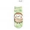 ถุงเท้าเด็ก Sumikko Gurashi นก สีเขียว