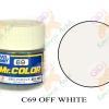 C69 Off White Gloss 10ml