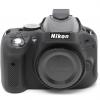 Nikon D5100 EasyCover Silicone Case -Black