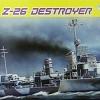 DRA1064 GERMAN Z-26 DESTROYER 1/350