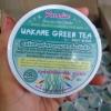 Wakame Green Tea by Paradise 50 g. สครับสาหร่ายวากาเมะ ชาเขียว ขัดผิว