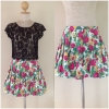 Topshop Floral skirt Size uk12