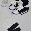 YOSD Black & White Socks Set