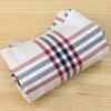 ผ้าคอตต้อนเกาหลี ลายตาราง Basic checks ผ้าฝ้าย 100% 20s ตัดขายขนาด 110x90 cm