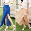 กระโปรง Sweet Single Color Pleated