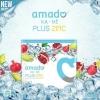 Amado Ka-ne Plus Zinc อมาโด้ กาเน่ กลูต้าเม็ดฟู่ สูตรใหม่ เพิ่ม Zinc