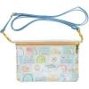 กระเป๋าสะพายใบเล็ก Sumikko Gurashi สีฟ้า