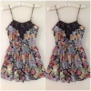 Primark Floral playsuit Size UK8