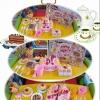 ชุดแต่งหน้าเค้ก + ตัดเค้กผลไม้ (DIY fruit cake)