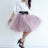 Organza Skirt - Purple