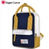 กระเป๋าเป้ยี่ห้อ Super Lover summer new small shoulder bag canvas 1 Color (Preorder)
