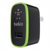 หัวชาร์จบ้าน belkin 2.1 แอมป์ (สีดำ)