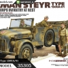 TA35305 German Steyr Type 1500A/01 & Afrika Corps Infantry at Rest 1/35