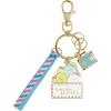 พวงกุญแจเหล็ก Sumikko Gurashi สีฟ้า