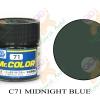 C71 Midnight Blue Gloss 10ml