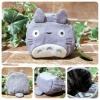 กระเป๋าซิป My Neighbor Totoro สีเทา