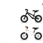 K-POP mini balance bike จักรยานทรงตัวสีขาว มีลายสีส้ม