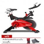 จักรยานออกกำลังกาย SPINNING BIKE ยี่ห้อ MAKETEC สีดำ-แดง ลิขสิทธิแท้ (15KG.)