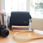 Gariz Binalpath Synthetic Leather Camera Bag Large