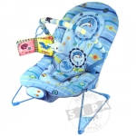 เก้าอี้เปลนอนปรับระดับได้( baby bouncer)..สีฟ้า...ฟรีค่าจัดส่ง