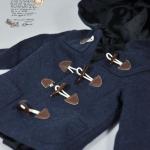 Blue Hood Coat