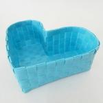 กล่องหัวใจ สีฟ้า H-09