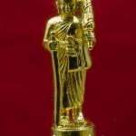 พระสิวลี ทองเหลือง ชุบทอง สูง 3 ซม. วัดบวรฯ ปี 40 พร้อมกล่องครับ
