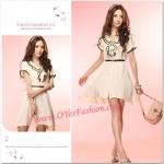 F ชุดเดรสทำงาน Tokyo Fashion ของแท้