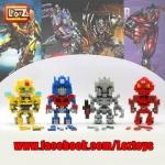 เลโก้ Loz ชุด Gift Series Dimond blocks Transformer Set 4 กล่อง