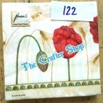 napkin ลายดอกไม้ (รหัสสินค้า NA-122)
