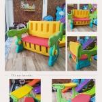 Table & Keeping storage : ชุดโต๊ะเก้าอี้ เก็บของเล่นได้
