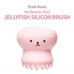 Etude House Jellyfish Silicon Brush ฟองน้ำซิลิโคน รูปปลาหมึก