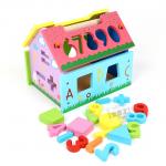 ของเล่นไม้ ในรูปแบบ Wooden Toys บ้านไม้ฝึกไอคิว