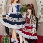 [PRE-ORDER] Lace Trim Dress Set