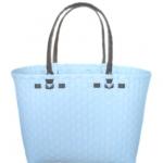 กระเป๋ากลาง ตัวขาว หูสีน้ำตาลเข้ม (ATM-F11)