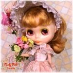 Peach Rococo Set