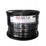 สายRG6 BIG CCTV ชีลด์95 100 เมตร POWER WIRE