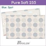 แผ่นรองคลาน PARKLON Pure Soft Mat ลาย Blue Spot มีลายทั้ง 2 ด้าน ขนาด 140x235x1.5cm - ส่งฟรี!!
