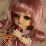 Ash Pink Wig