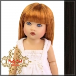 Medium Brown Long Straight Wig