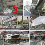 การเดินทางมาร้านไทยเจริญ โดยเส้นทางรถไฟฟ้าBTS