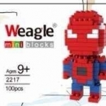 เลโก้จิ๋ว Weagle mini blocks :Spiderman