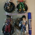 Model Dragon Ball Z Set 4 ตัว ฐานดำ