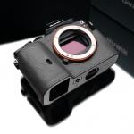 Gariz Leather Half-case for Sony A7 Grey