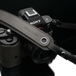 Gariz Leather Neck Strap : XS-CHLSNG2 (Grey)